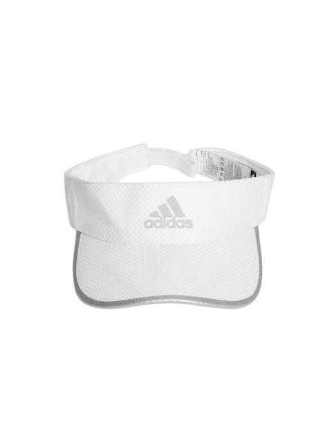 Adidas Unisex White R96 CC Self Design Visor Cap