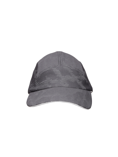 Adidas Women Charcoal Grey Self Design Running Cap