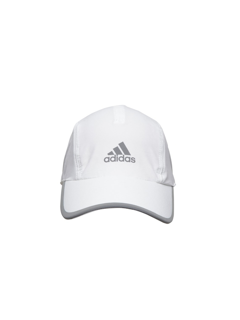 Adidas Unisex White R96 CL Solid Baseball Cap