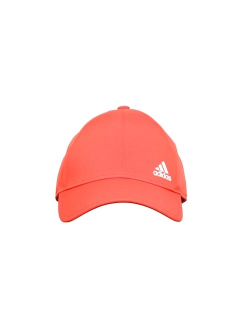 Adidas Unisex Red Bonded Solid Baseball Cap