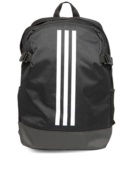 Adidas Unisex Black BP POWER IV Brand Logo Backpack
