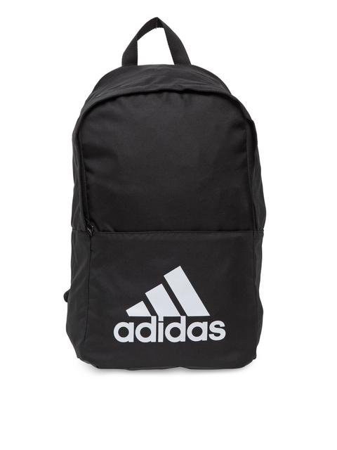 Adidas Unisex Black Classic Laptop Backpack