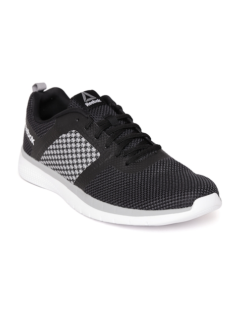 Reebok Men Black & Grey PT Prime FC Running Shoes
