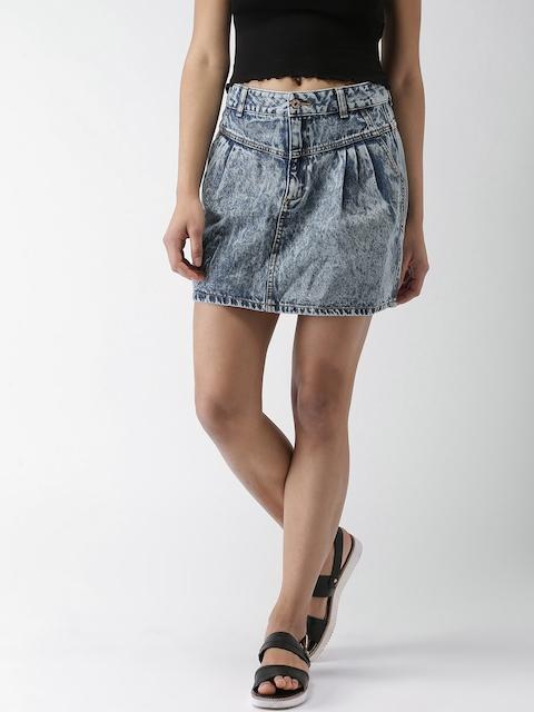 FOREVER 21 Blue Denim Skirt