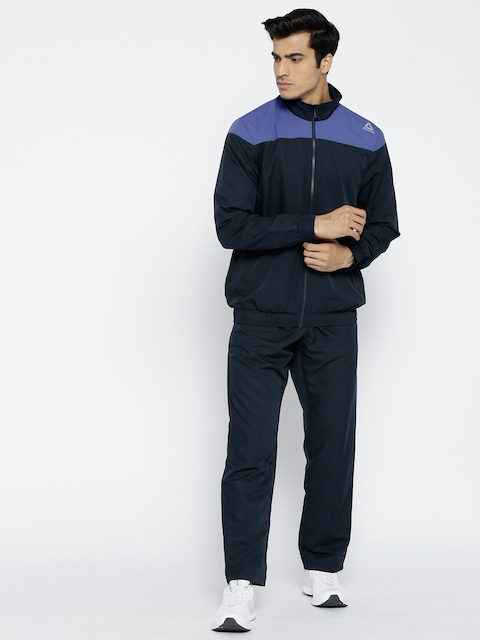 Reebok Navy Blue Fitness Training Tracksuit