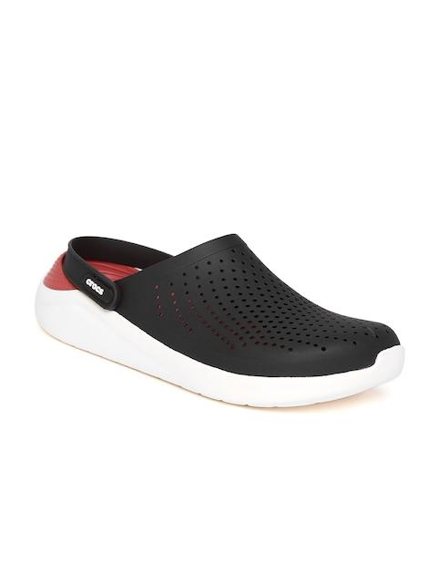 Crocs Men Black Solid Clogs