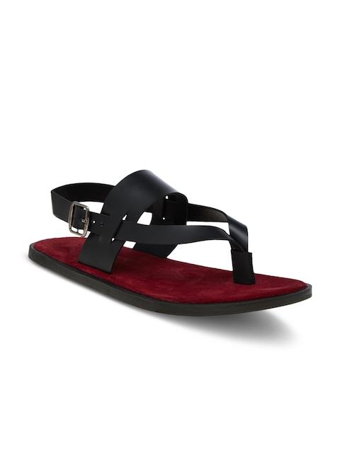 WCFC Men Red & Black & Red Comfort Sandals