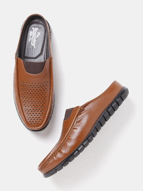 Roadster Men Tan Brown Slip-Ons