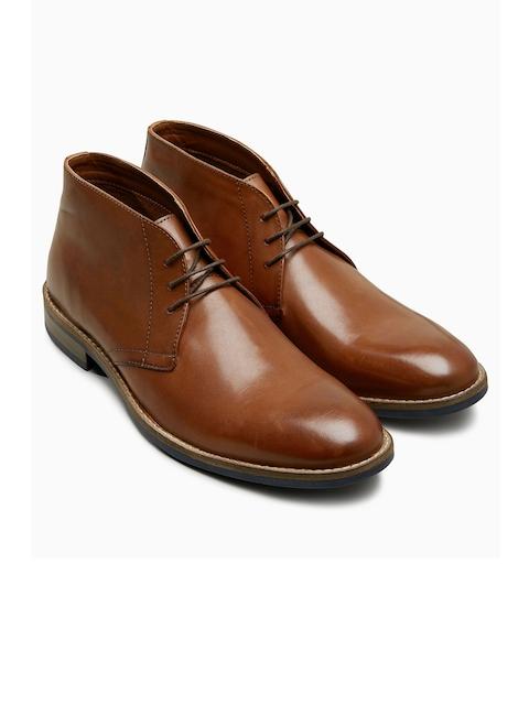 next Men Brown Formal Shoes