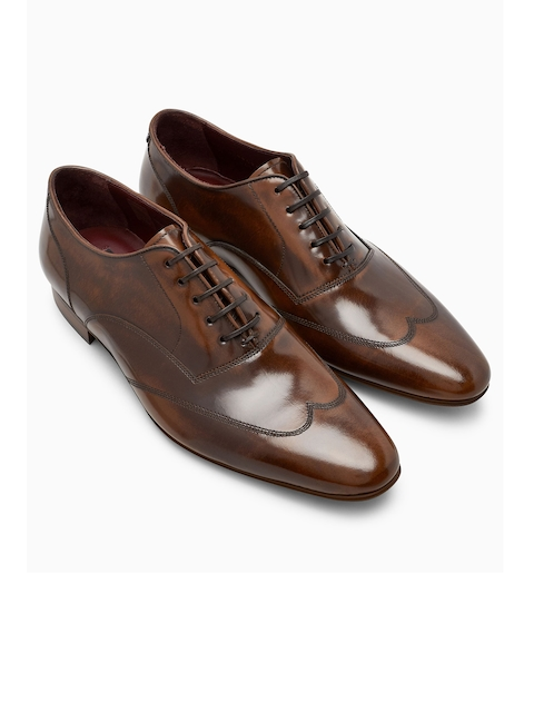 next Men Brown Leather Brogues