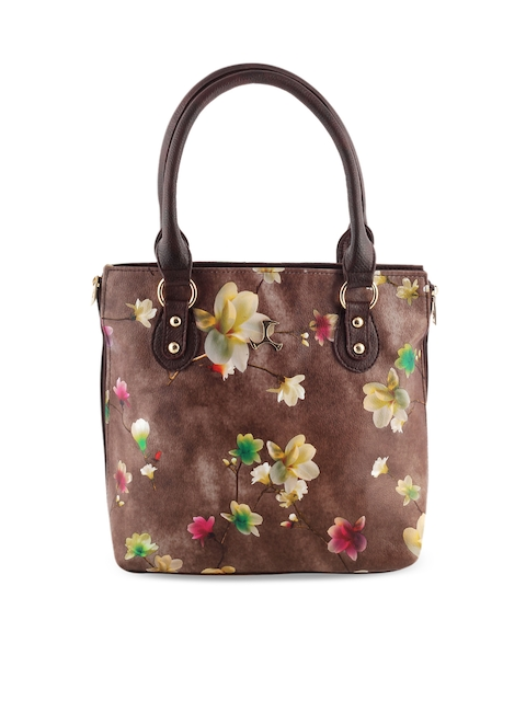 Mochi Brown Printed Shoulder Bag