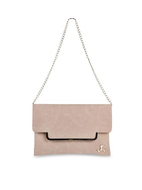 Mochi Beige Solid Sling Bag