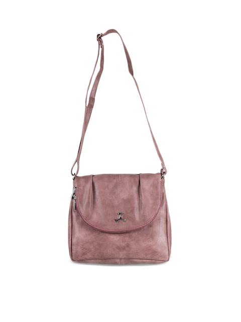 Mochi Pink Solid Sling Bag