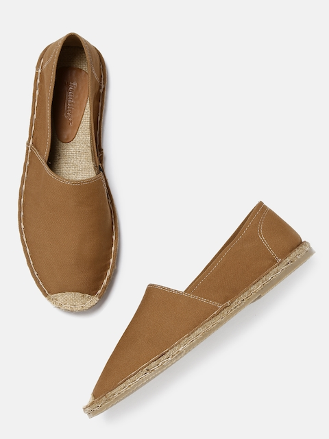 Roadster Men Tan Espadrilles