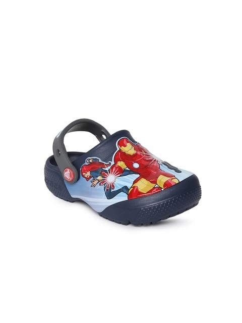 Crocs Boys Navy Blue Clogs