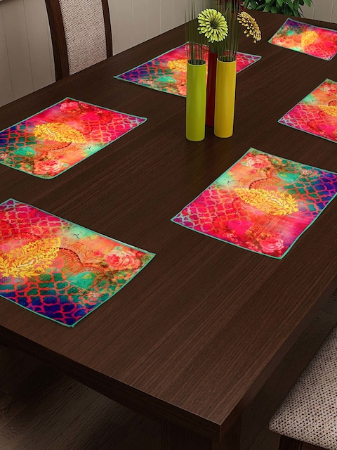 HOUZZCODE Multi-coloured Table Mat