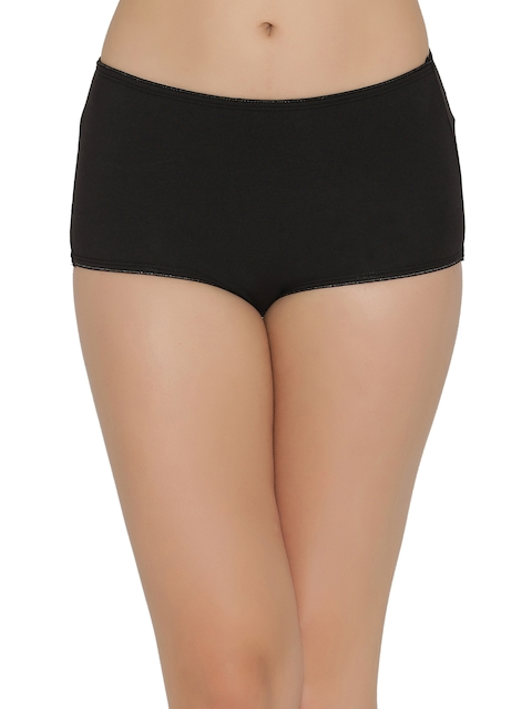 Clovia Women Black Hipster Briefs PN2303P13