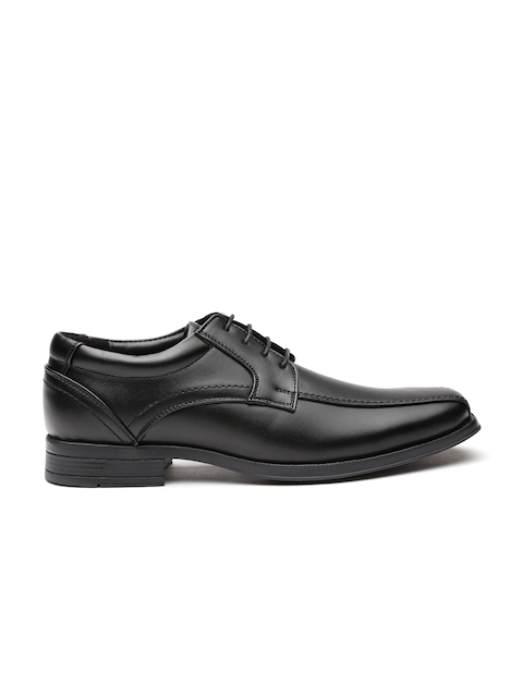 Carlton London Men Black Formal Derbys