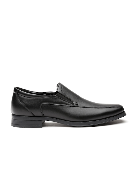 Carlton London Men Black Formal Slip-Ons