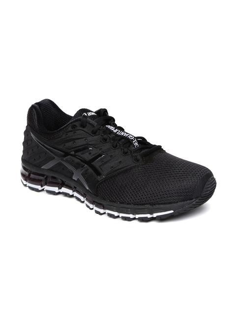 ASICS Men Black Running Gel-Quantum 180 2 MX Running Shoes