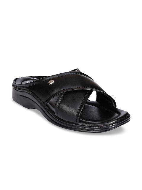Action Men Black Comfort Sandals