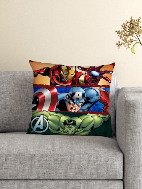 Athom Trendz Multicoloured Printed Cushion With Cusion Cover