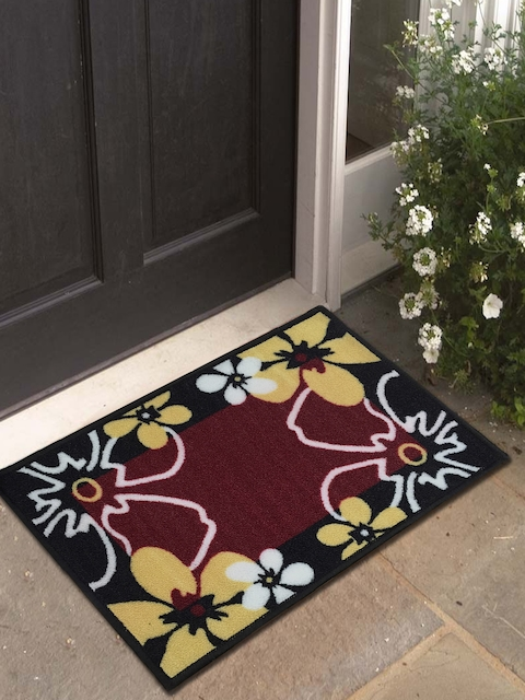 Athom Trendz Multicoloured Printed Doormat