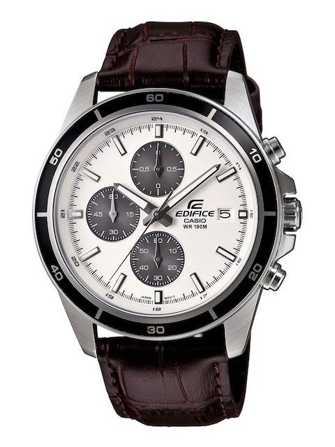 Casio Edifice Men Brown Analogue Watches (EX097) EFR-526L-7AVUDF  available at myntra for Rs.5035