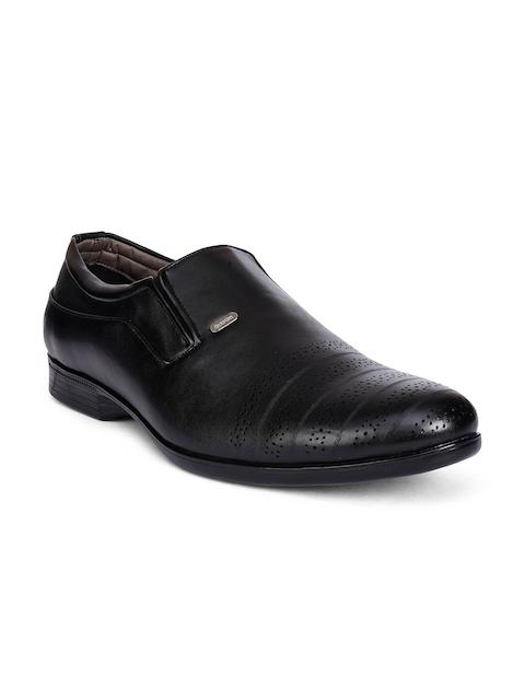 Action Men Black Semi-Formal Shoes