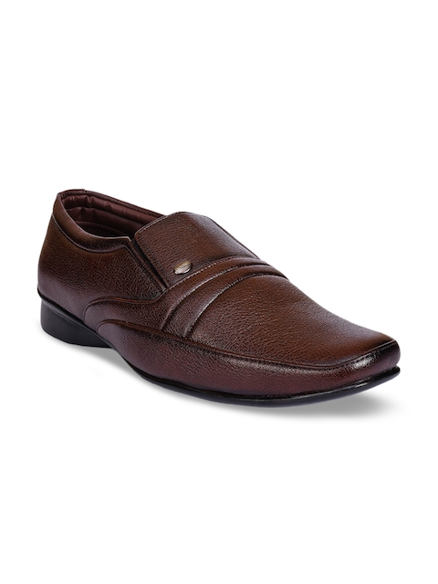 Action Men Brown Semi-Formal Shoes