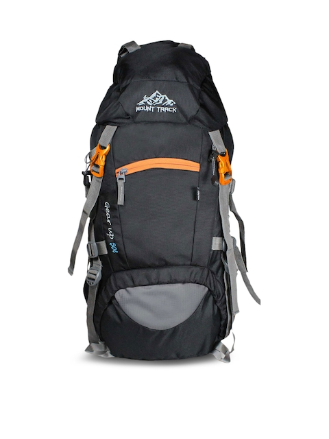 MOUNT TRACK Unisex Black Gear Up Rucksack