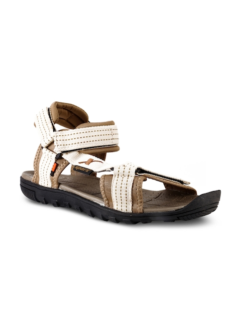 Sparx Men Beige & Beige Comfort Sandals