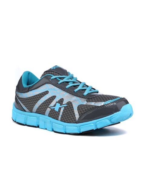 Sparx Women Grey & Blue Running Shoes