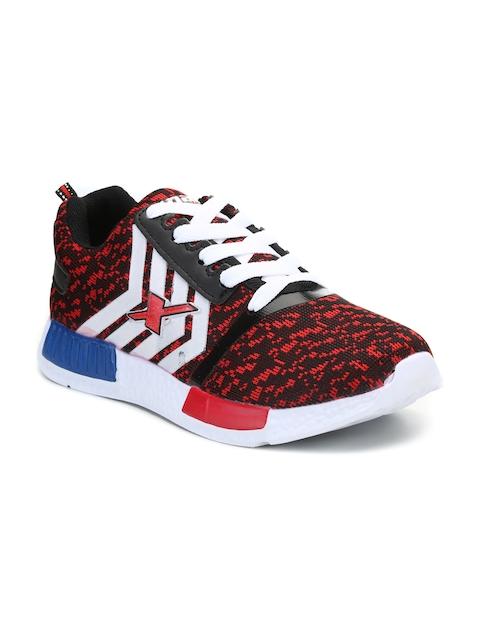 Sparx Women Red & Black Running Shoes