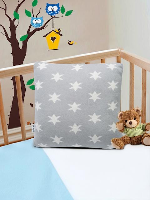 Pluchi Grey Fibre Baby Pillow