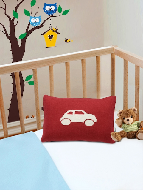 Pluchi Red Fibre Baby Pillow