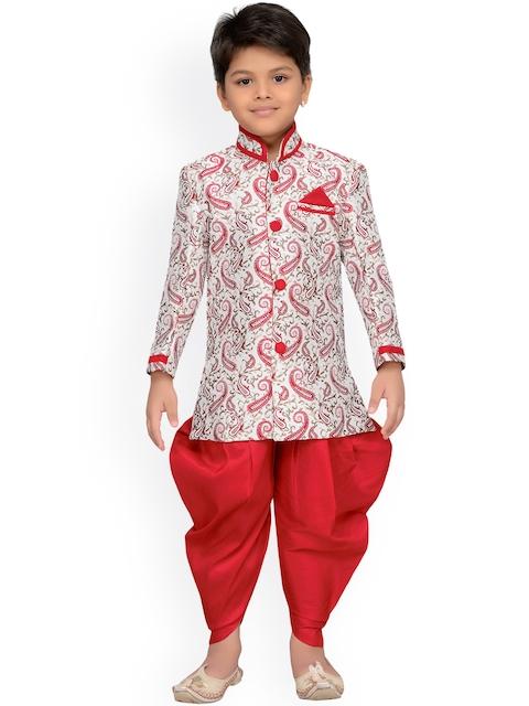 AJ Dezines Baby Boys Indo Western Sherwani Suit for Kids
