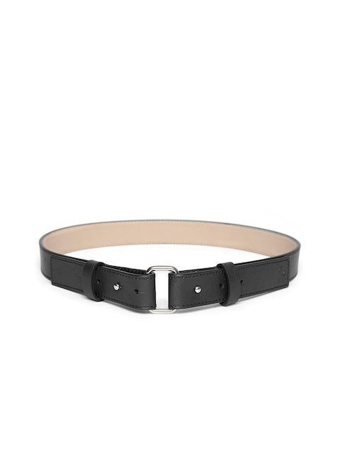 United Colors of Benetton Women Black Solid Belt