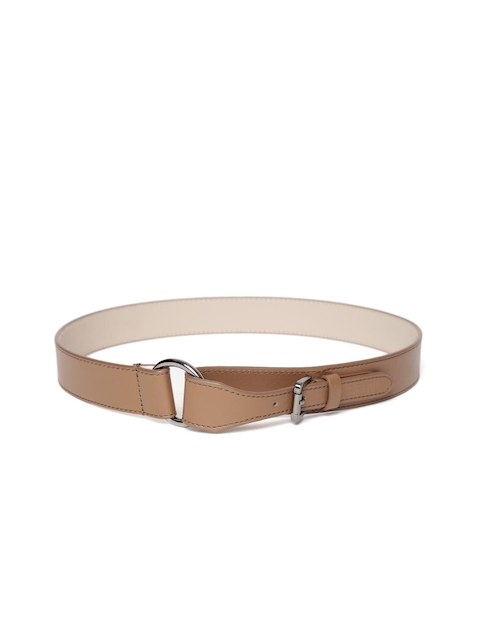 United Colors of Benetton Women Brown Solid Belt