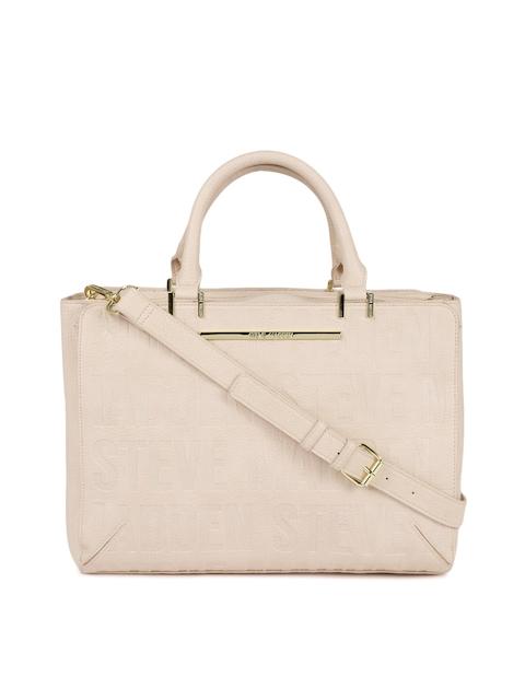 Steve Madden Pink Textured Handheld Bag