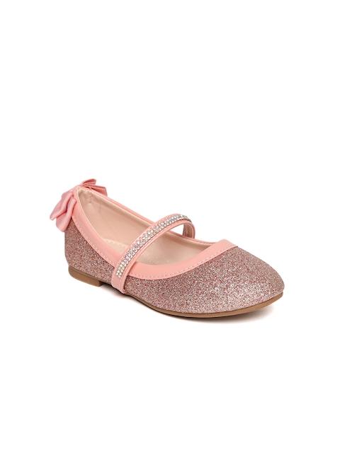 Kittens Girls Pink Shimmer Ballerinas