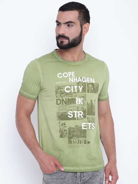 555dae69f691 Monte Carlo Men T-Shirts   Polos Price List in India 17 May 2019 ...