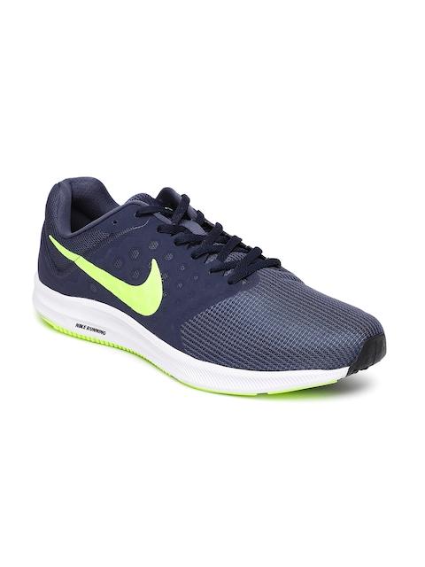 Nike Men Navy Downshifter 7 Running Shoes