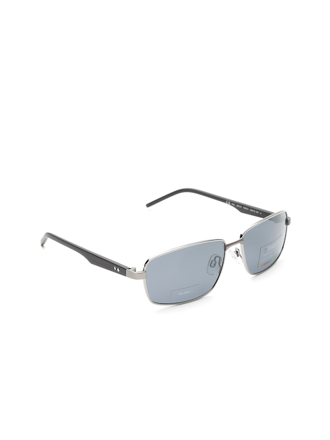 Polaroid Unisex Polarised Rectangle Sunglasses 2041/S FAE 59Y2