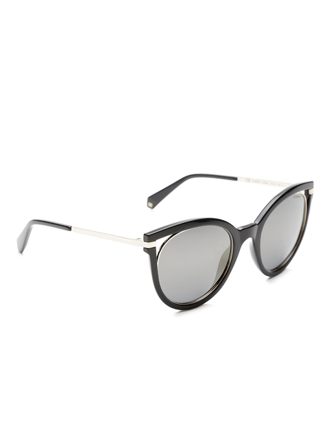 Polaroid Women Polarised Mirrored Cateye Sunglasses 4067/S 2M2 51LM