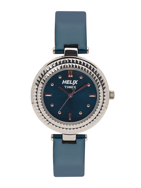 Helix Women Navy Blue Analogue Watch TW033HL02