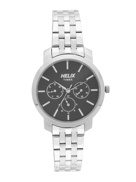 Helix Women Black Analogue Watch TW032HL10