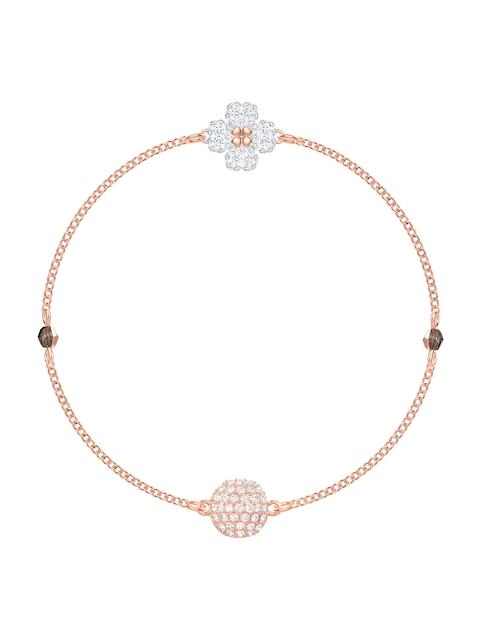 SWAROVSKI Rose Gold-Coloured Engaged Contemporary Bracelet