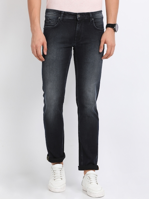 Indian Terrain Men Black Slim Fit Jeans