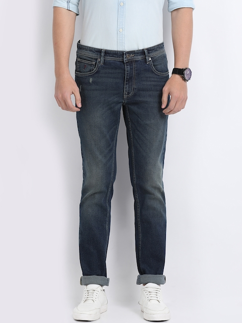 Indian Terrain Men Blue Slim Fit Jeans